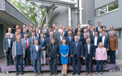 Konstituierende Sitzung des Zweckverbands Klärschlammverwertung Steinhäule